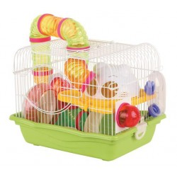 Cage for rodents whitegreen 355X266X275 CM