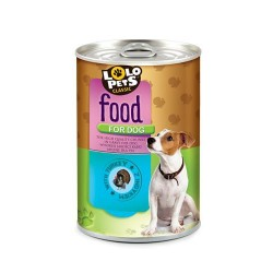 FOOD FOR DOG- 410 g, PUSZKA,INDYK