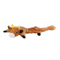 Pet plush squeaky toy 65x22cm