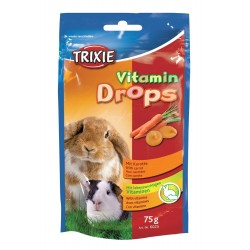 Vitamin drops rodents carrot 75 g