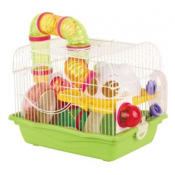 Cage for rodents whitepink 355X266X275 CM