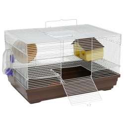 Cage for rodents 47X30X27 CMwhiteblue