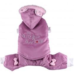 Kombinezon Glitz&Glamour, różowy,SD-M 28-30cm/41-43cm