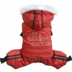 Kombinezon Glitz&Glamour, czerwony,SD-L 31-33cm/46-48cm