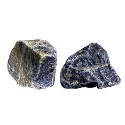 Skałka niebieski Sodalit, zaokraglony, box 10 kg