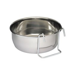 Coop cups with clamps chrome plated 056 L