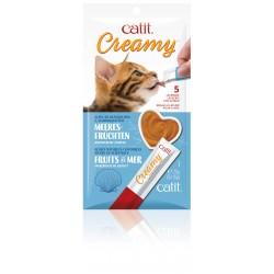 Catit Creamy, owoce morza, 5szt/op.