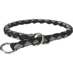 Cavo, obroża zaciskowa, dla psa, czarny/grafit, taśma parciana, L: 47–55 cm/o 18 mm
