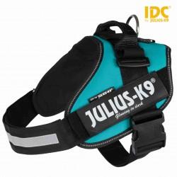 Szelki Julius-K9® IDC , 2/L–XL: 71–96 cm/50 mm, petrol