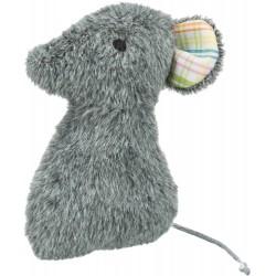 Mysz, zabawka, dla kota, plusz, 12 cm, z walerianą