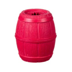 Barry King beczka na przysmaki, czerwona, 8 cm