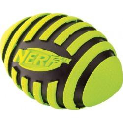 Spiralna piszcząca piłka rugby NERF, M, czerwona/zielona