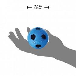Piłka piszcząca NERF, S, czerwona/niebieska