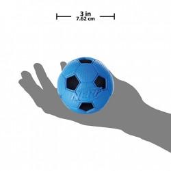 Piłka piszcząca NERF, M, zielona/niebieska