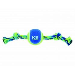 Sznur z piłką Zeus Fitness K9, S, 23 cm