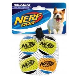 Zestaw piszczących piłek tenisowych NERF Mini, 4,5cm, 4SZT/OPAK