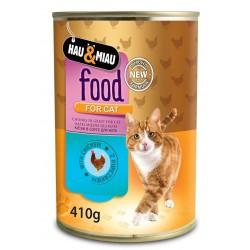FOOD FOR CAT- 410 g, PUSZKA,KURCZAK