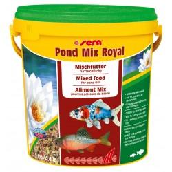 Pond Mix Royal 10 l, mieszanka -pokarm dla ryb stawowych