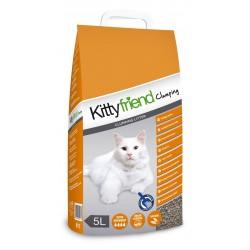 Kittyfriend, żwirek, dla kota, bentonit, 5L, zbrylający