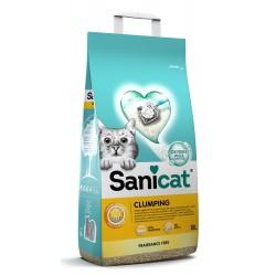 Clumping, żwirek, dla kotów, bentonit, bezzapachowy, 8l, zbrylający