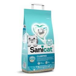 Clumping, żwirek, dla kotów, bentonit, mydło marsylskie, 10l, zbrylający