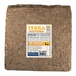 Podłoże do terrarium brykiet torf kokosowy foliowany 5kg kraj pochodzenia Sri Lanka