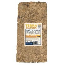 Podłoże do terrarium brykiet chips kokosowy foliowany 500g kraj pochodzenia Sri Lanka