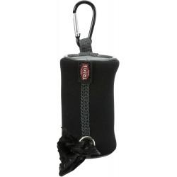 Pojemnik na woreczki na odchody, dla psa, neopren, zawiera 1 rolkę z 20 workami