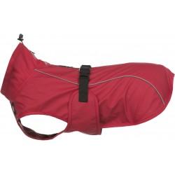 Vimy, płaszcz przeciwdeszczowy, dla psa, czerwony, M: 45 cm