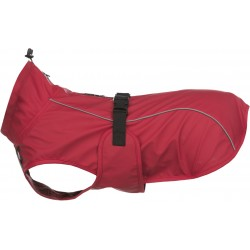 Vimy, płaszcz przeciwdeszczowy, dla psa, czerwony, M: 50 cm