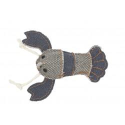 Barry King homar z mocnego materiału szary/granatowy 12 x 11 cm