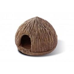 Kryjówka Kokos, dla żab, 9,5 cm x 4 cm x 3,5cm, śr.11,5 cm