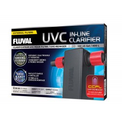 Sterylizator UVC In-Line Clarifier, 16x13x6,6cm, 3W, max. 400L