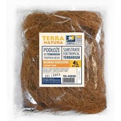 Podłoże do terrarium, Włókno kokosowe nici 4L kraj pochodzenia : Sri Lanka