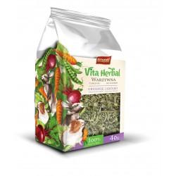 Vita Herbal dla gryzoni i królika, warzywna grządka, 100g, 4szt/disp