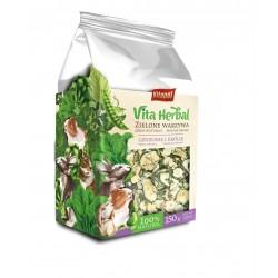 Vita Herbal dla gryzoni i królika, zielone warzywa, 150g, 4szt/disp