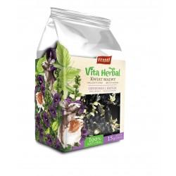 Vita Herbal dla gryzoni i królika, kwiat malwy, 15g, 4szt/disp