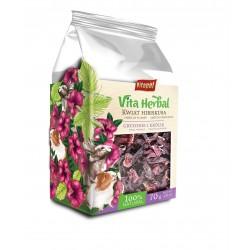 Vita Herbal dla gryzoni i królika, kwiat hibiskusa, 70g, 4szt/disp