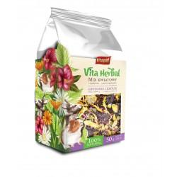 Vita Herbal dla gryzoni i królika, mix kwiatowy, 50g, 4szt/disp