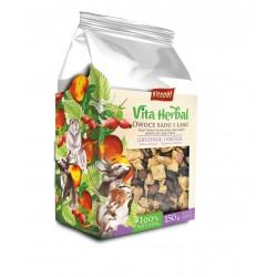 Vita Herbal dla gryzoni i królika, owoce z sadu i lasu, 150g, 4szt/disp