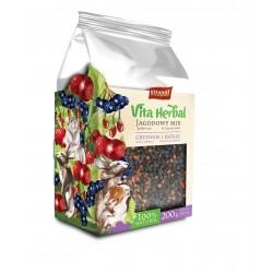 Vita Herbal dla gryzoni i królika, jagodowy mix, 200g