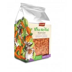 Vita Herbal dla gryzoni i królika, marchew suszona, 100g